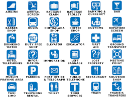 international travel symbols