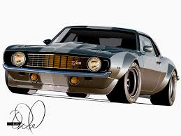 camaro hot rod