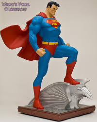 jim lee superman statue