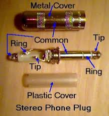 stereo phone plugs