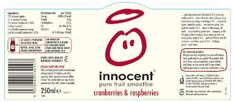 drinks label