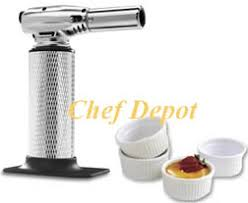 creme brule torch