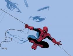 spider man blue
