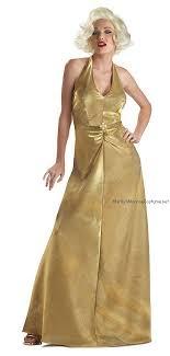gold halter dress