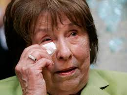 Dorothy rodham wipes away