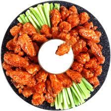 boneless hot wings