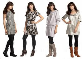 dresses to wear with tights