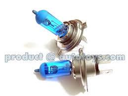 blue headlight bulb