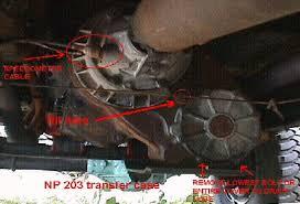 new process 203 transfer case