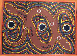 australian aboriginal dot painting