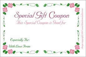 coupon gifts