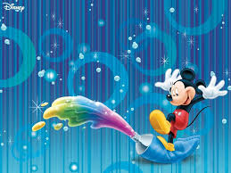mickey mouse paint