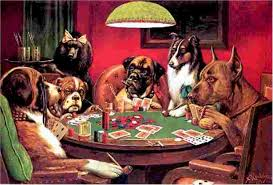 cm coolidge dogs playing poker