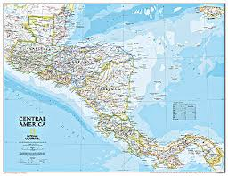 central america road map