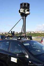 google map street view camera