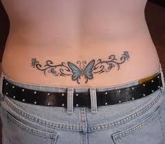 lower back tattoos gallery
