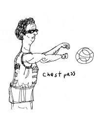 chest pass