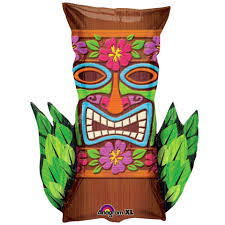hawaiian tiki mask