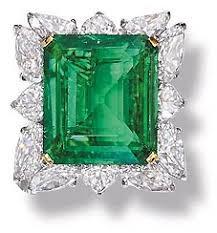 rings emeralds