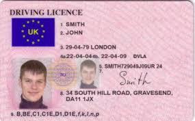 british driving licence