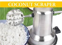 electric coconut scraper
