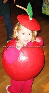 apple halloween costume
