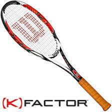 k factor tennis racquet