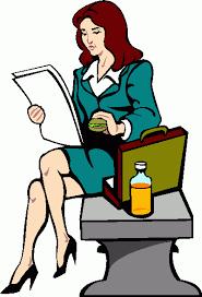 clip art business woman