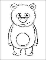 teddy bear drawings