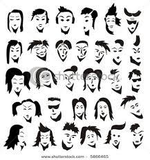 different emotion faces