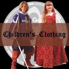 medieval clothing children
