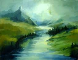 sceneries paintings