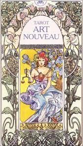 art nouveau tarot cards