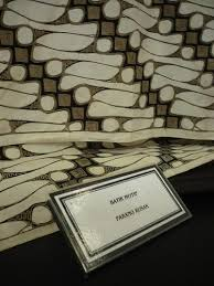 motif batik parang rusak