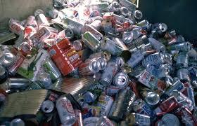 recycling aluminium cans