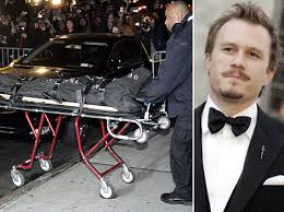 heath ledger died