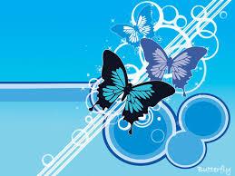 butterflies wall paper
