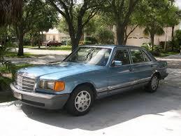1985 mercedes 500sel