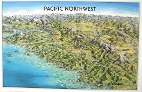 mapa ilustrado