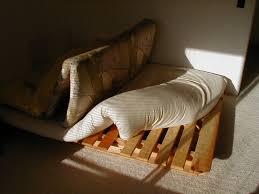 tri fold futon frame