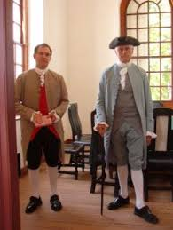 colonial dress for men