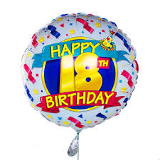 happy 18th birthday pictures