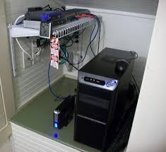 home server closet