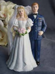 air force wedding cake topper