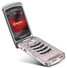 pink blackberry flip phone