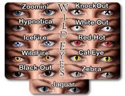 crazy wild eyes