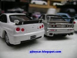 nissan skyline toy car