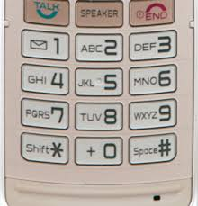 cell phone key pads