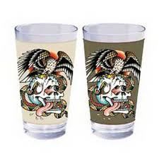 ed hardy glass