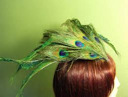 peacock feather flower arrangements